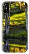 Evening Birches IPhone Case