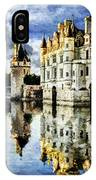 Evening Falls At The Castle IPhone Case