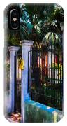 Evening Fence And Gate - Nola IPhone Case