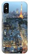 evening in Tokyo IPhone Case