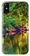 Evening On The Humber River - Paint IPhone Case