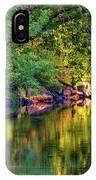 Evening On The Humber River IPhone Case