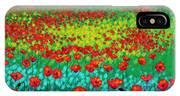 Evening Poppies IPhone Case