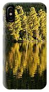 Evening Reflections On Alder Lake IPhone Case