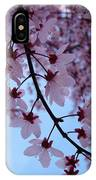 Evening Sky Pink Blossoms Art Prints Canvas Spring Baslee Troutman IPhone Case