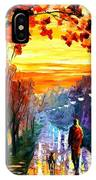 Evening Stroll IPhone Case