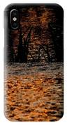 Evening Sun On Small River IPhone Case