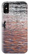 Evening Swim IPhone Case