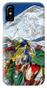 Everest Base Camp IPhone Case