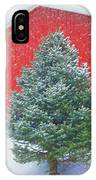 Evergreen In Winter #1 IPhone Case