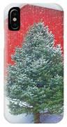 Evergreen In Winter #1 IPhone Case