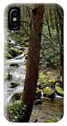 Evergreen Stream Ravine IPhone Case
