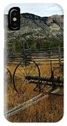 Ewing-snell Ranch 4 IPhone Case