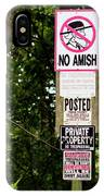 Excessive Property Signs IPhone Case