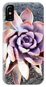 Exotic Succulent Plant - Pink Lilac IPhone Case