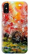 Exploding Nature IPhone Case