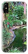 Expressionalism Beautiful Garden  IPhone Case