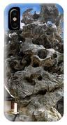 Exquisite Jade Rock - Yu Garden - Shanghai IPhone Case
