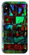 Extended Play Graffiti Radio/tonyadamo IPhone Case