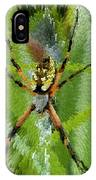 Extruded Spider IPhone Case