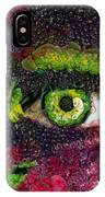 Eye And Butterflly Vegged Out IPhone Case