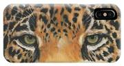 Jaguar Gaze IPhone X Case