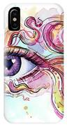 Eye Fish Surreal Betta IPhone Case