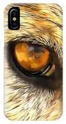 Eye Of A Wolf. IPhone Case