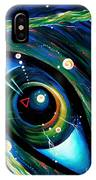 Eye Of Immortal Eternity. Timeless Space 2 IPhone Case