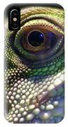 Eye Of Lizard IPhone Case