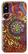Eyes Of Fire IPhone Case