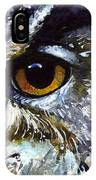 Eyes Of Owls No.25 IPhone Case