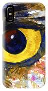 Eyes Of Owl's No.6 IPhone Case