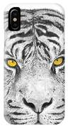 Eyes Of The Tiger IPhone Case