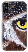 Eyes Of Wisdom IPhone Case