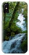 Eyes Over The Flowing Water IPhone Case