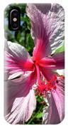 F17 Pink Hibiscus IPhone Case