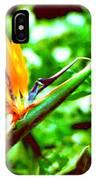 F21 Bird Of Paradise Flower IPhone Case
