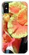 F24 Cannas Flower IPhone Case