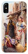 Fabio Fabbi Orange Seller IPhone Case