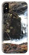 Face In The Falls IPhone Case
