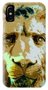 Face Of The Lion IPhone Case