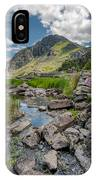 Face Of Tryfan IPhone Case