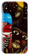 Faces Of Africa IPhone Case