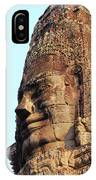 Faces Of The Bayon Temple - Siem Reap, Cambodia IPhone Case