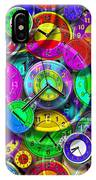 Faces Of Time 1 IPhone Case