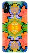 Facing Realities Abstract Hard Candy Art By Omashte IPhone Case