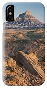 Factory Butte 0768 IPhone Case
