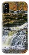 Factory Falls - Childs State Park IPhone Case