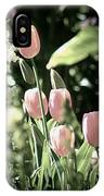 Faded Tulips IPhone Case